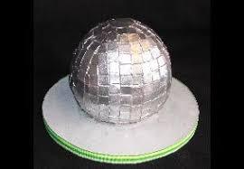 disco ball cakes