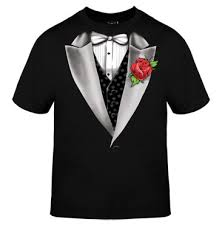 t shirt tuxedos