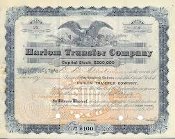 certificate of shares