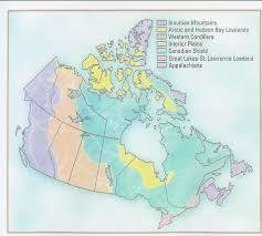 canada landform regions