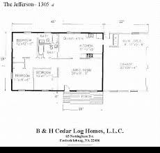 log house floor plans