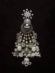 christmas tree jewellery