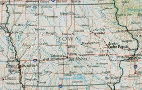 central iowa map