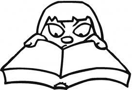book coloring sheets