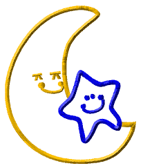 moon with star