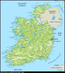maps southern ireland