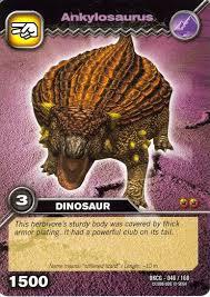 dinosaur king ankylosaurus