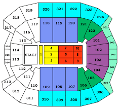 air canada center concert seating