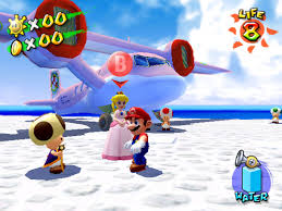 game cube mario sunshine
