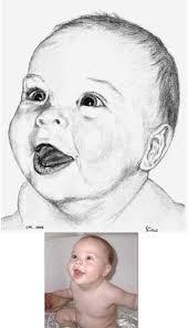 drawn portraits