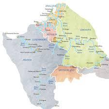 rhine river in europe