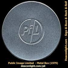 public image limited metal box