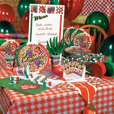 italian theme party