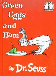 green eggs and ham books