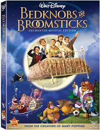 bed knobs and broomsticks dvd