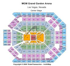 mgm arena seating chart