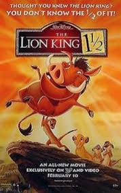lion king movie posters