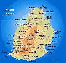 mauritius islands map