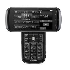 japanese touch screen phones