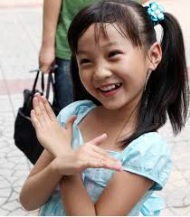 chinese little girls