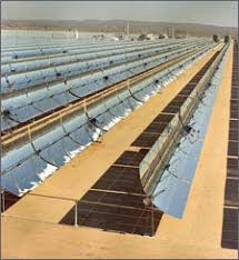 concentrating solar power plants