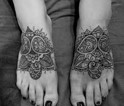 mendhi tattoo