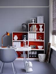 red book shelves