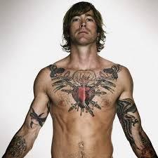 celtic chest tattoos