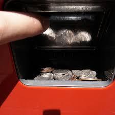 coin vending machine