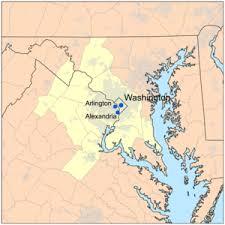 map of dc metropolitan area