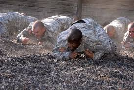 army combat training