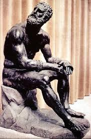 bronze boxer