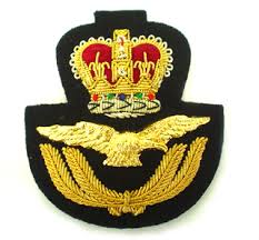 raf cap badges