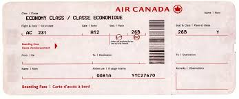 airline ticket template