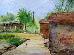 indian village art