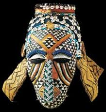 colorful african masks