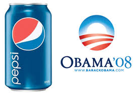 pepsi logo obama logo