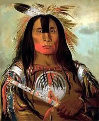 native american indian paintings