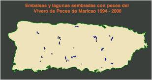 mapa de los rios de puerto rico