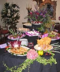 reception food ideas