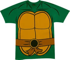 ninja turtle costume shirt