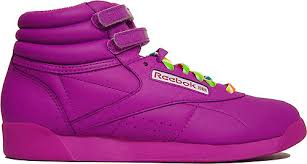 reebok freestyle purple