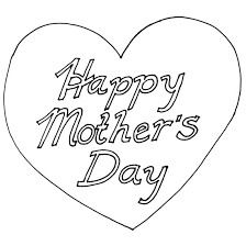 mothers day coloring book