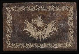 embroidered leather
