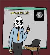recovery cartoon