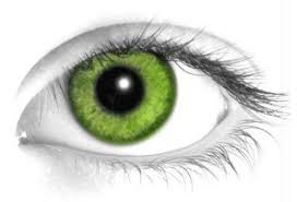 neon green contacts