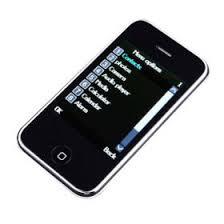 cellphone touch screen