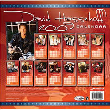 david hasselhoff calendar