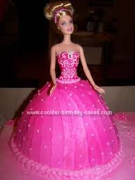birthday cakes barbie