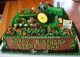 john deer birthday cakes